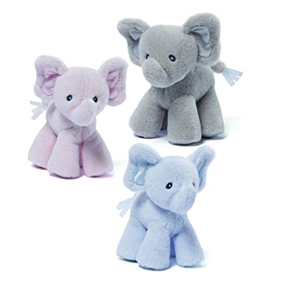 Gund Baby Bubbles Elephant Baby Single Rattle-Color will vary: Toys & Games