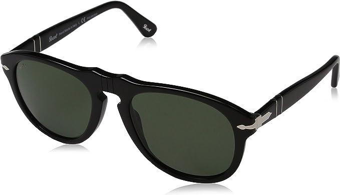 Sunglasses Black Frame Silver Lens 0649