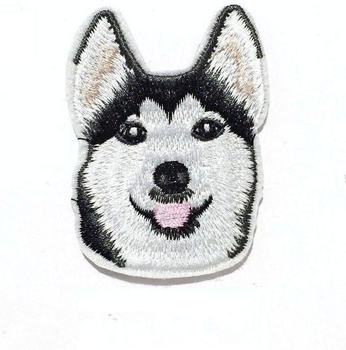 Embroidered IRON ON PATCH Heat Adhesive Pocket Dog Pet Animal Beagle Small  Chihuahua Schnauzer Poodle German Shepherd Corgi Pug Dalmatian
