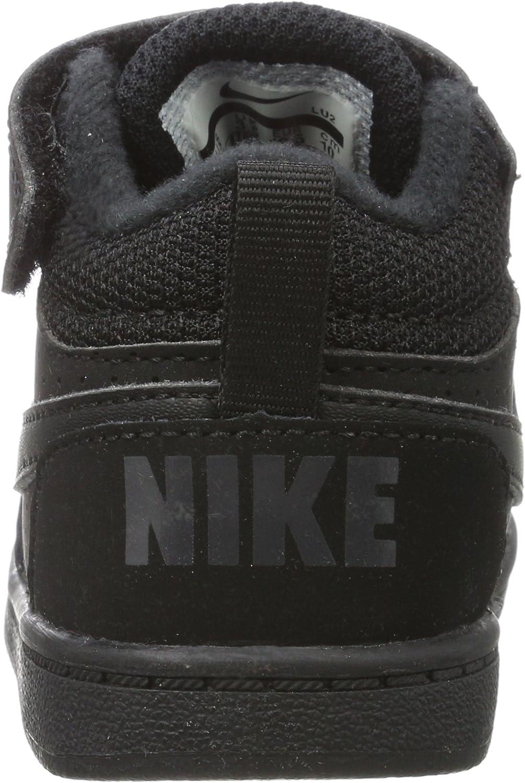 TD Chaussons Mixte b/éb/é Nike Court Borough Mid
