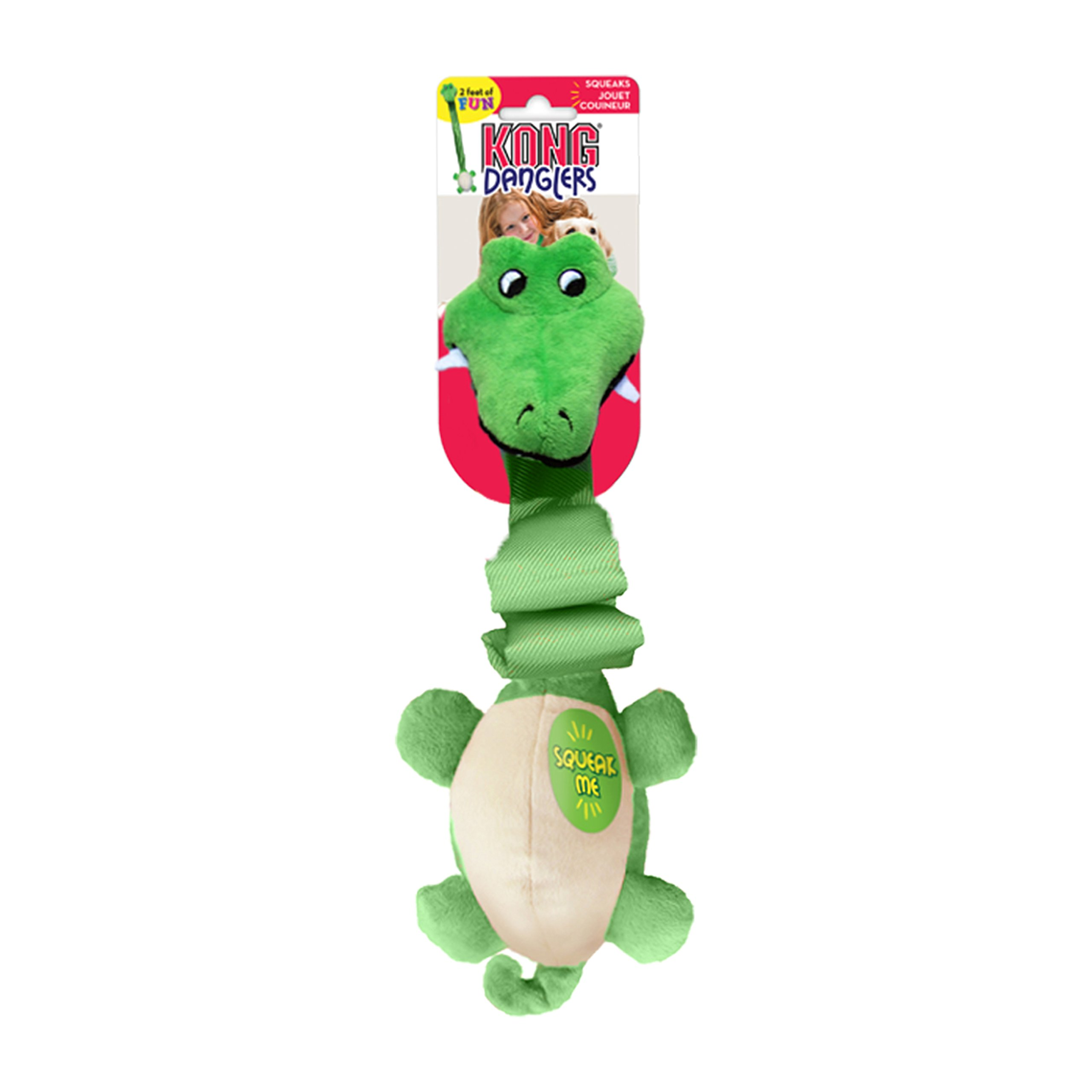 KONG Danglers Gator Dog Toy by KONG (Image #3)