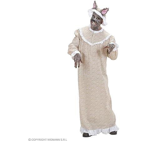 Disfraz de Abuela Lobo para hombre: Amazon.es: Juguetes y juegos