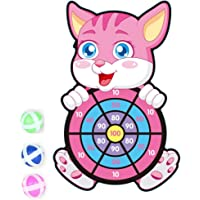 Toys for 2-6 Year Old Boys, Childrens Dart Board Outdoor Games for Kids Christmas Xmas Gifts 2-6 Year Old Boys Gifts…
