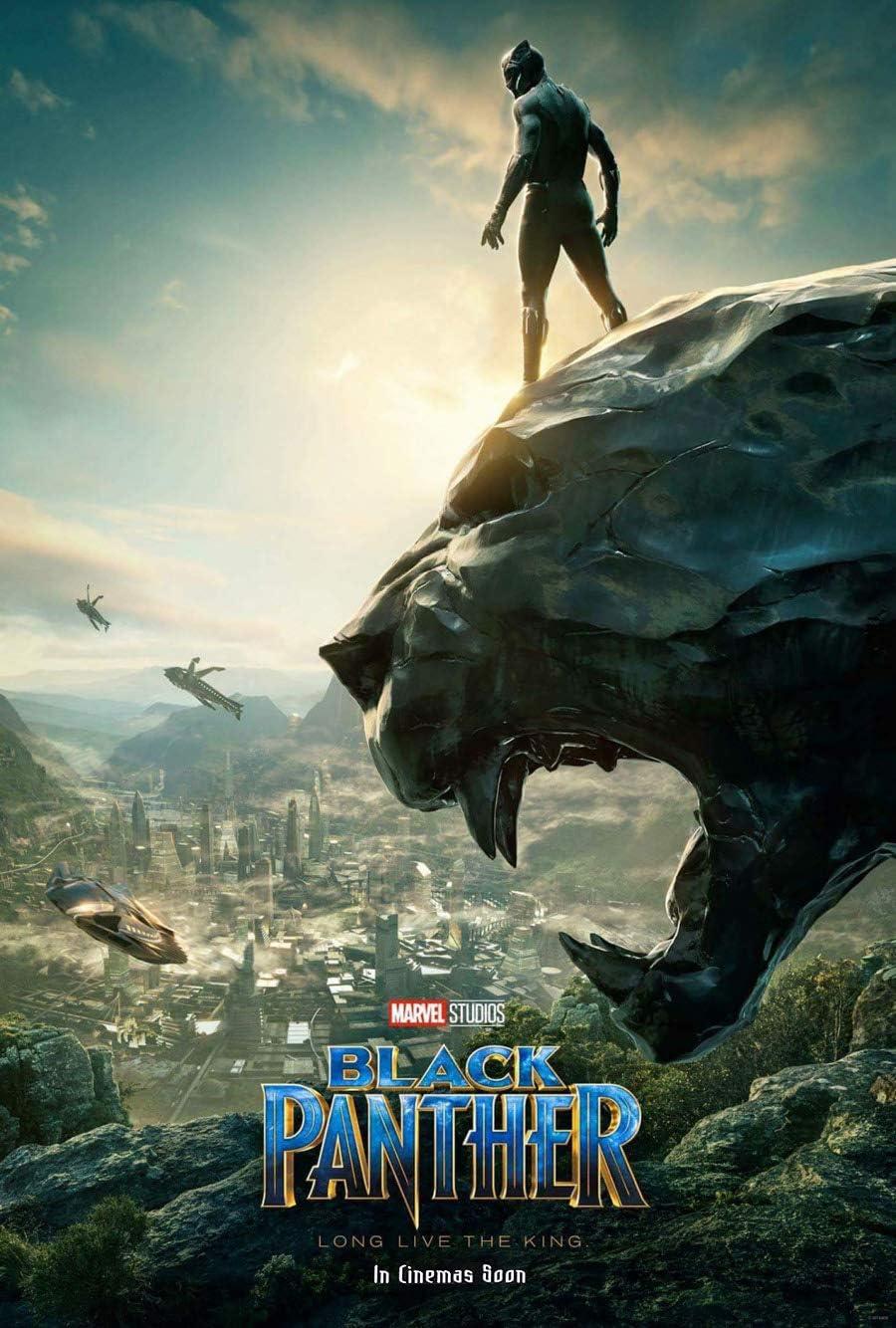 Amazon Com Black Panther Movie Poster 2 Sided Original Intl Advance 27x40 Chadwick Boseman Everything Else