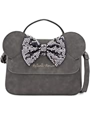Loungefly x Minnie Mouse Sequin Bow Crossbody Bag