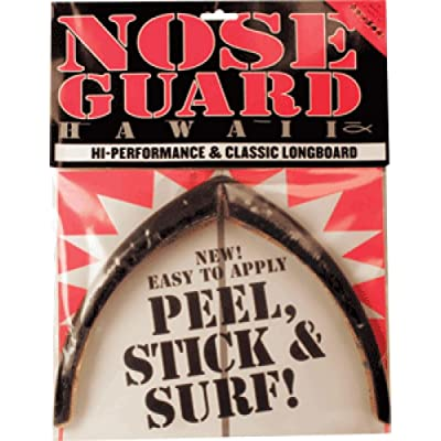 Surfco Hawaii Longboard Black Nose Guard Kit : Longboard Skateboards : Sports & Outdoors