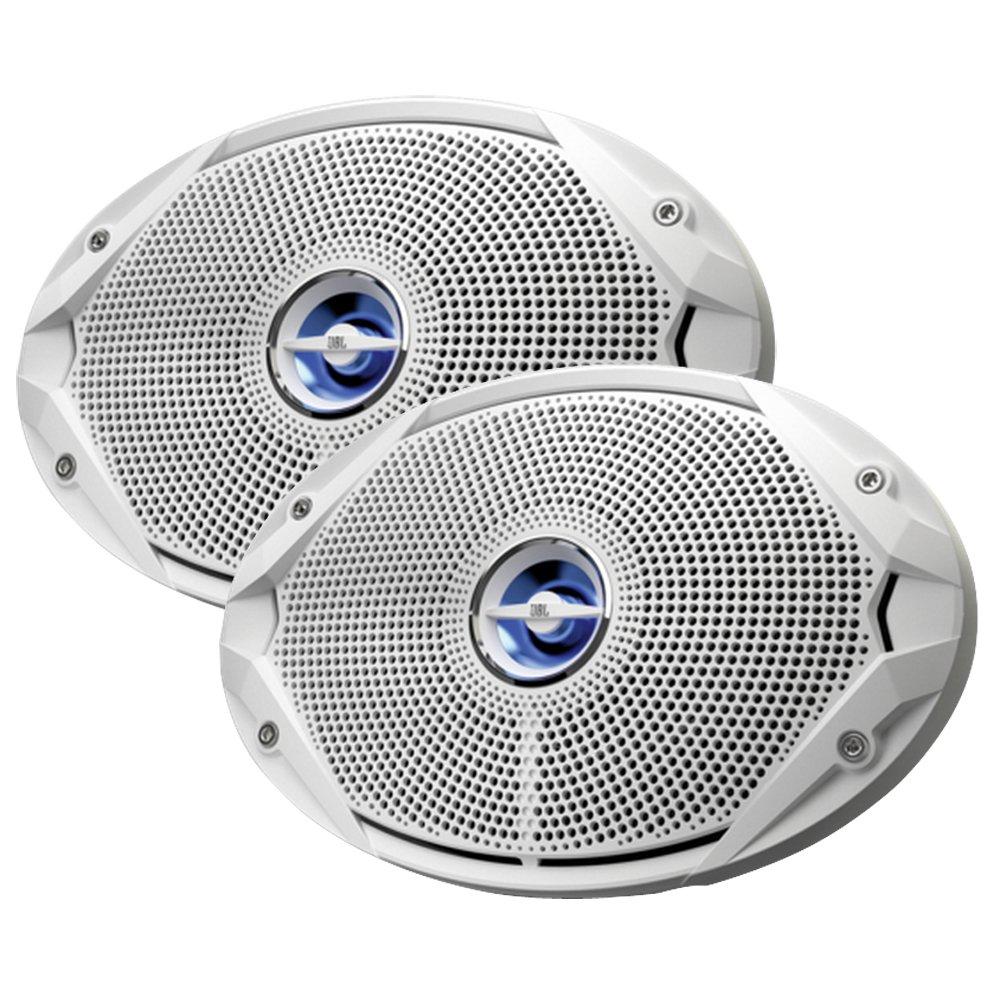 JBL MS9520 6 x 9 Coaxial Speakers - (Pair) White