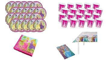 PEQUEFIESTA 00012; Pack cumpleaños Disney Princesas ...