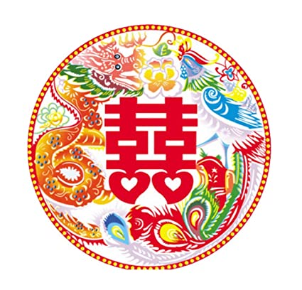 Amazon 40 pieces of rooms cars wedding stickers decoration 40 pieces of rooms cars wedding stickers decoration chinese color pattern junglespirit Gallery