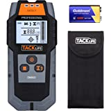 Tacklife DMS03 Multi-Wall Detector Large LCD Backlight Scanner for Magnetic/Non-Magnetic Metal, AC Wire, Wood Finder with Deep Detecting