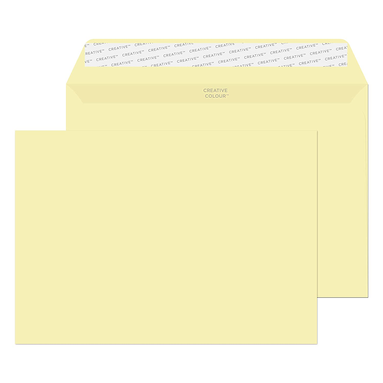 45320 Oxford Blue Pack of 25 Blake Creative Colour C5 162 x 229 mm 120 gsm Peel /& Seal Wallet Envelopes