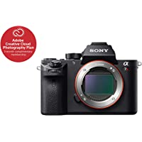 Sony ILCE7RM2/B a7R II Full-Frame Mirrorless Interchangeable Lens Camera, Body Only