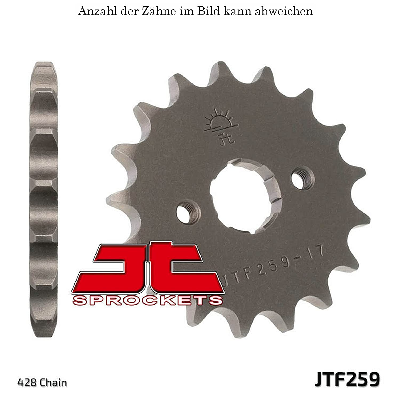 12er Ritzel Daelim VJF 125 R Fi Roadwin 07-15 JT Sprockets JTF259.12 jtSprockets