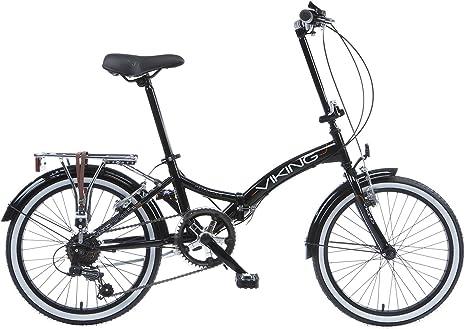 Bicicleta plegable para bicicleta Viking Easy Street Folder Negro ...