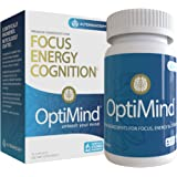 OptiMind Nootropics Brain Booster Supplement, Enhance Focus and Energy, As Seen on Netflix ((1) 32 Count Bottle)