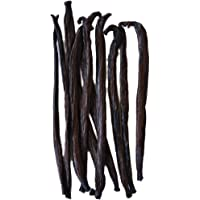 Native Vanilla Grade B Tahitian Vanilla Beans – 10 Premium Extract Whole Pods – For Chefs and Home Baking, Cooking…