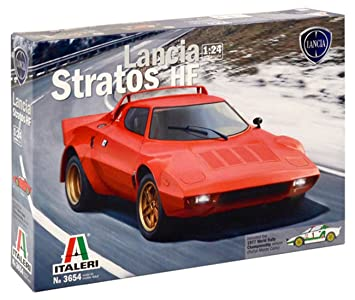 Italeri 3654 1 24 Lancia Stratos Vehicle