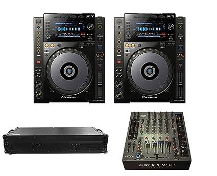 Amazon.com: 2 x Pioneer CDJ-900 Nexus + XONE: 92 Fader + ...