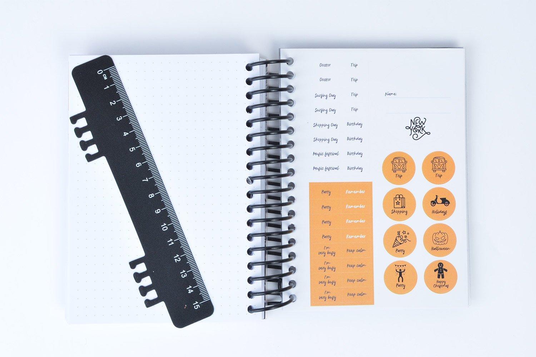 Grupo Erik Editores ADPE1804 - Agenda escolar con espiral en español New York, 11.4 x 16 cm