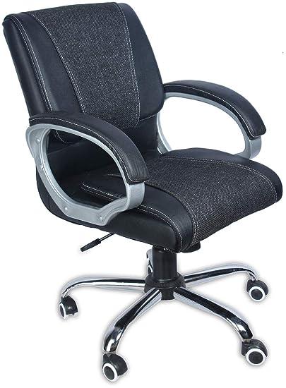 Green Soul Prague Mid Back Office Chair (Black)