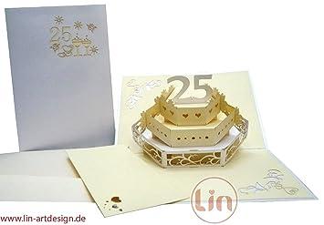 Lin de Pop Up Tarjetas Tarjetas de boda, boda invitaciones, tarjetas de 3d aniversario