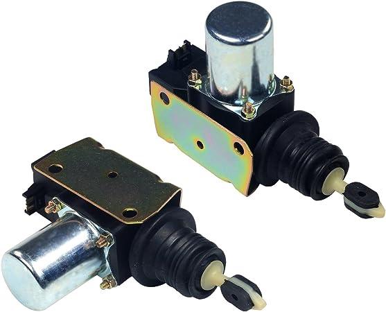 Pair Power Door Lock Actuator Latch Solenoid For Chevy GMC Pickup 22071947 New