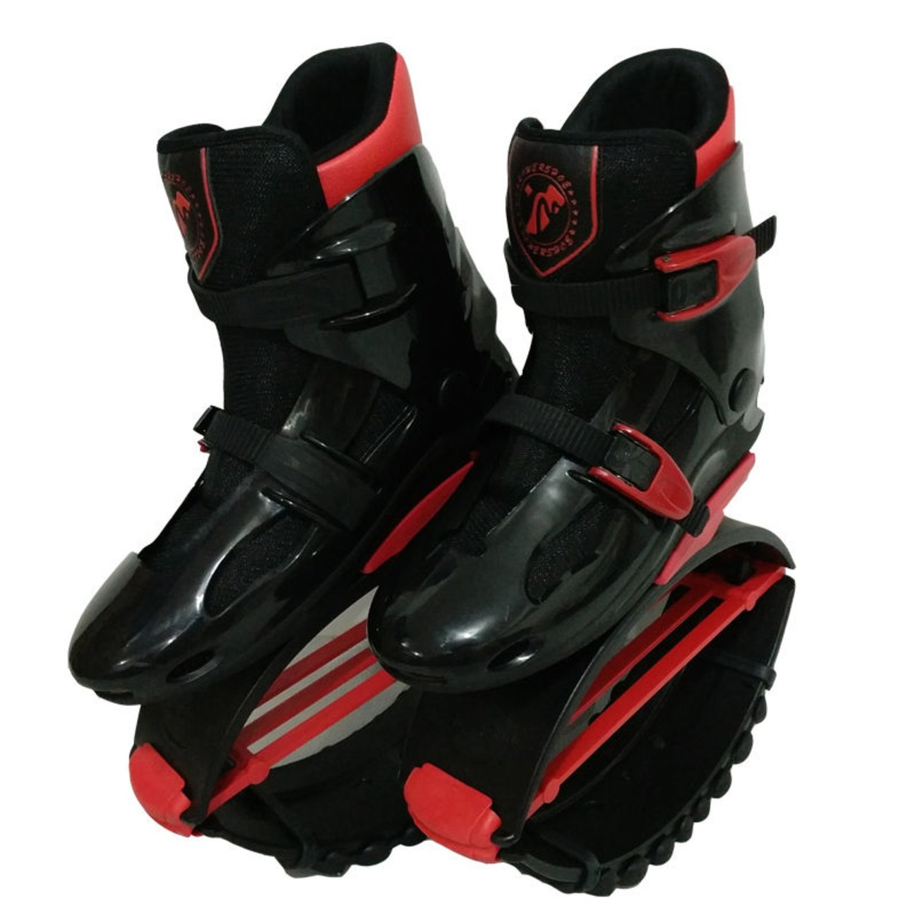 Unisex Kids Adults Anti-Gravity Running Boots Fitness Bounce Shoe Jumping Shoes 60-240 LBS Black/Red