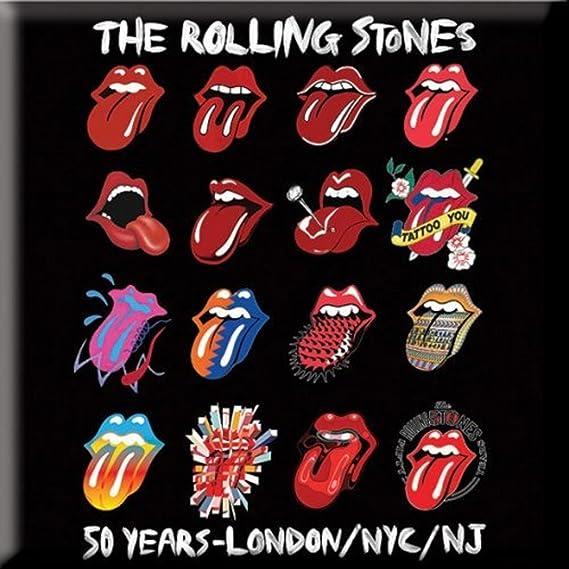 Rolling Stones The Metal magnético – Evolution – Tongue Logo: Amazon.es: Juguetes y juegos