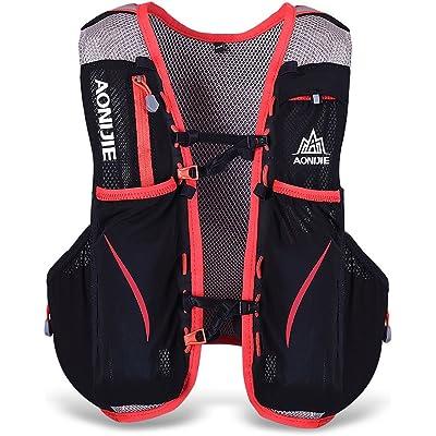 Lixada 5L Vejiga de Agua Mochila, Mochila Hidratación, Running Mochila, Impermeable y Transpirable, para Camping, Marathoner, Correr, Caminar, Escalada, Actividades al Aire Libre