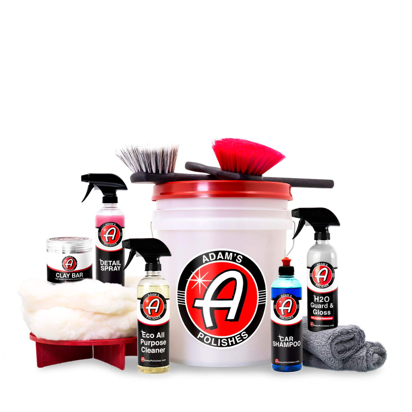 Adam's Daily Driver Detailing Kit - Detail Your Entire Vehicle Efficiently and Effectively - Designed to Clean, Shine, and Protect Your Daily Driver by Adam's Polishes (Image #1)