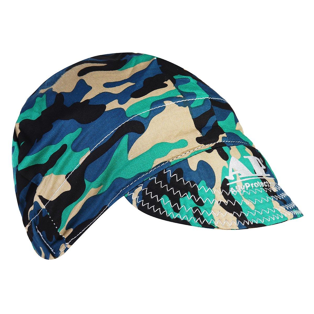 Welding Cap, SONSAN Adjustable Elastic Welding Welders Hat Cap Sweat Absorption Cotton Army Camouflage Summer - - Amazon.com