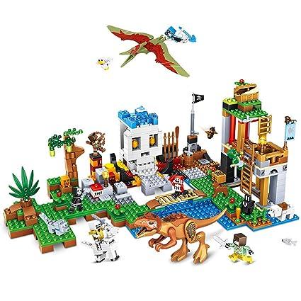Amazon.com: Boy-S-YEAR 652 piezas bloques de construcción ...