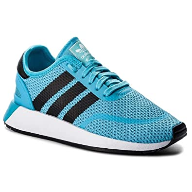 adidas Originals Men s N-5923 Sneaker Running Shoe Bright Cyan Black White 7 647786184