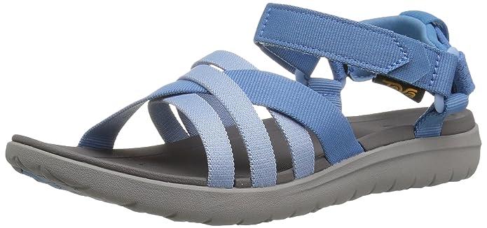 7efc1351bf3c Teva Women s Sanborn Sandal Sports and Outdoor Lifestyle Sandal   Amazon.co.uk  Shoes   Bags