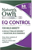 Nature's Own EQ Control - Calms Anxiety Symptoms - Supports Nerve Function and Muscle Relaxation - Relieves Stress, 50 Tablets
