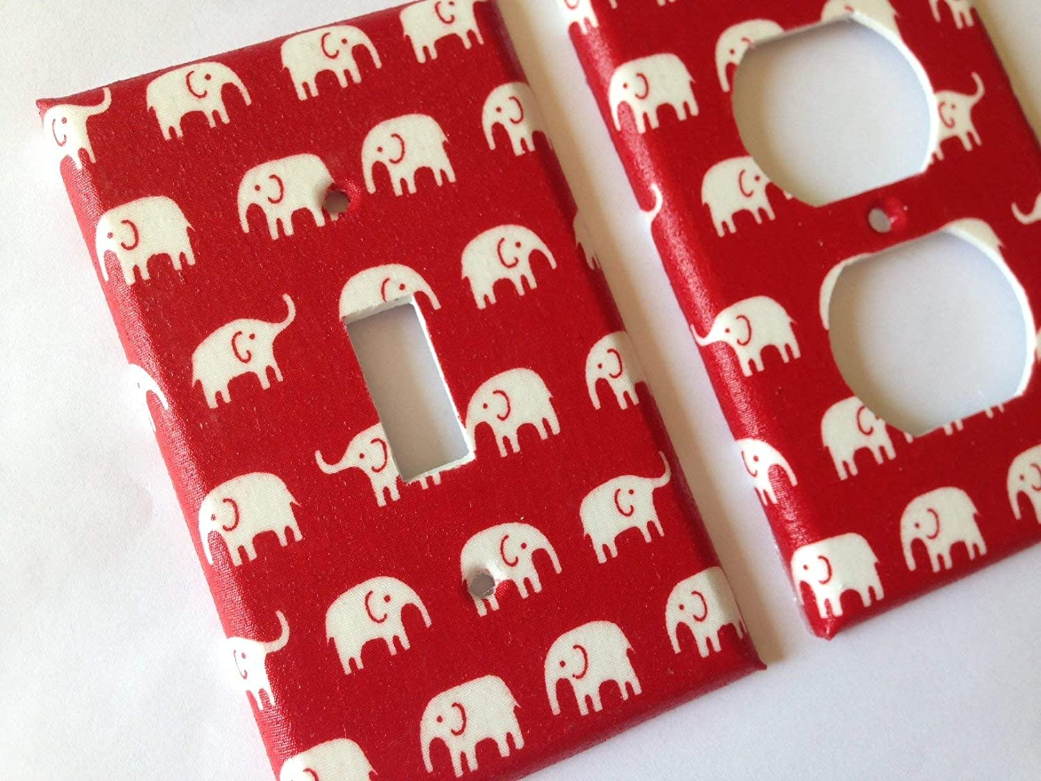 Elephant Light Switch Cover Various Sizes Offered