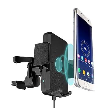Amazon.com: Cargador inalámbrico Qi iPhone X rápido cargador ...