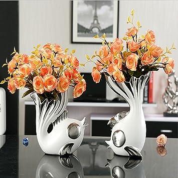 Amazon De European Style Keramik Vase Hochzeitsgeschenke Kreative
