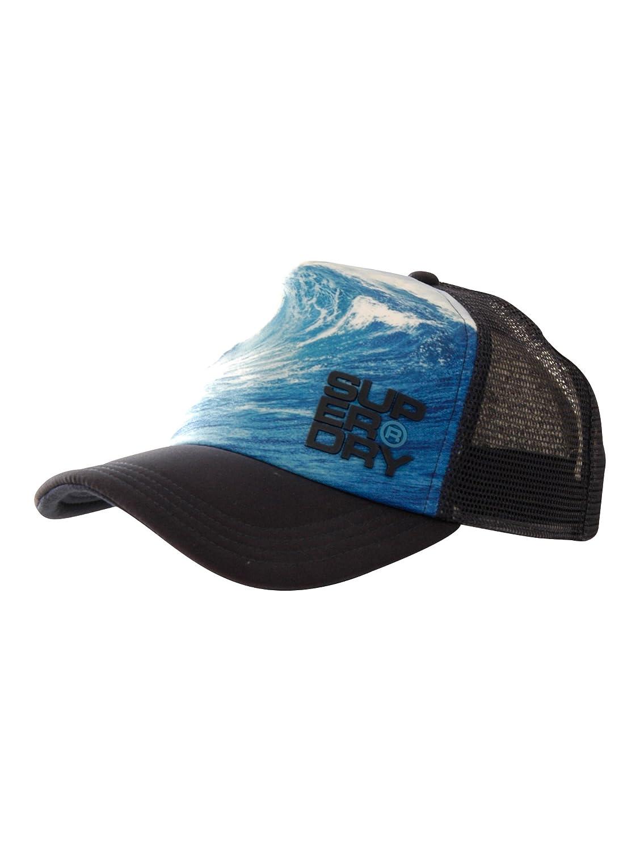 Superdry - Gorra de béisbol - para hombre azul Talla única: Amazon ...