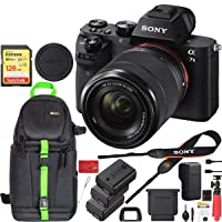 Deals on Sony Alpha a7 II Mirrorless Camera Body 24.3MP & 128GB Memory Bundle