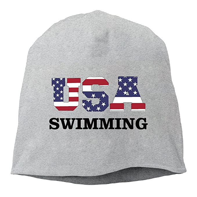 4d4a0301c USA Team Swimming Daily Beanie Hat Ash: Amazon.ca: Clothing ...