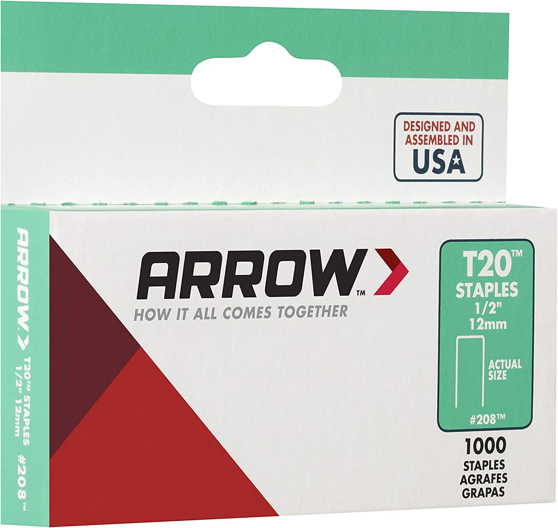 tama/ño: 12mm Grapas Arrow