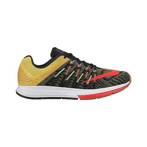 bc6149e4b2b2 Nike Men s Air Zoom Elite 8 Running Shoes Black Opti Yellow Volt Total