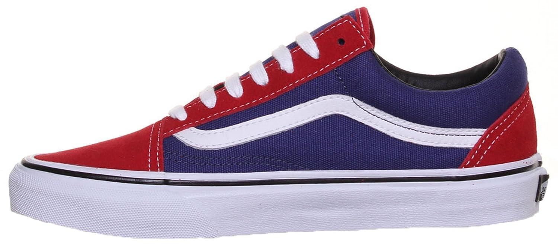 7ef61bd69e5bac SV - Vans Old Skool Unisex Suede Leather Trainers - Blue