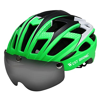 Casco de ciclismo para hombre y mujer, casco de bicicleta ...