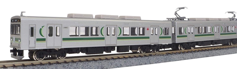 グリーンマックス Nゲージ 東急1000系 1500番代  生活名所 池上線ヘッドマーク付き 3両編成セット 動力付き 50607 鉄道模型 電車 B07CQJMBYS