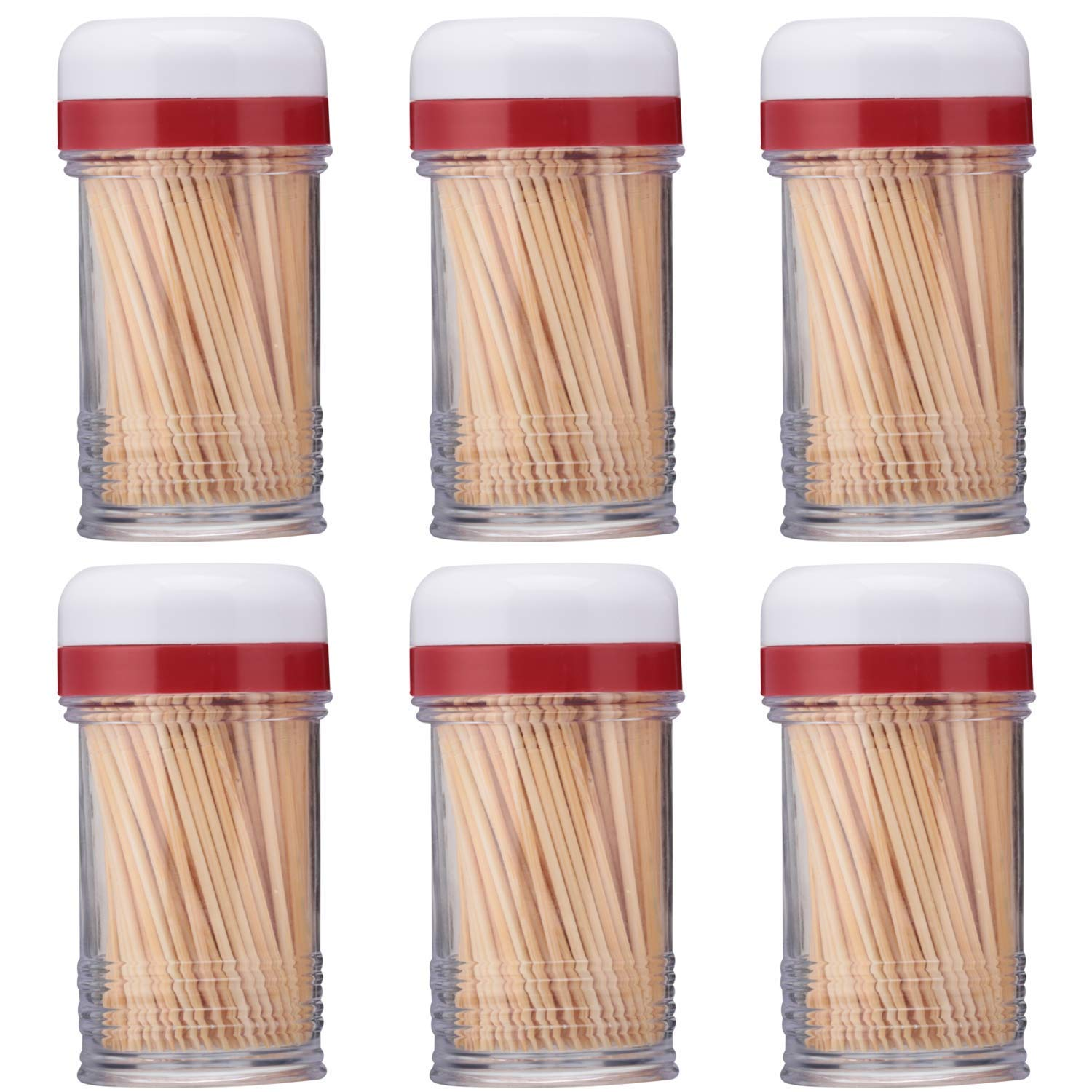 Good Cook Touch Shake-A-Pick Toothpick Dispenser (6-Pack) by Good Cook