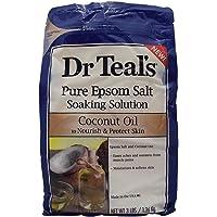 Dr Teals Pure Epsom Salt Coconut Oil, 1.36kg