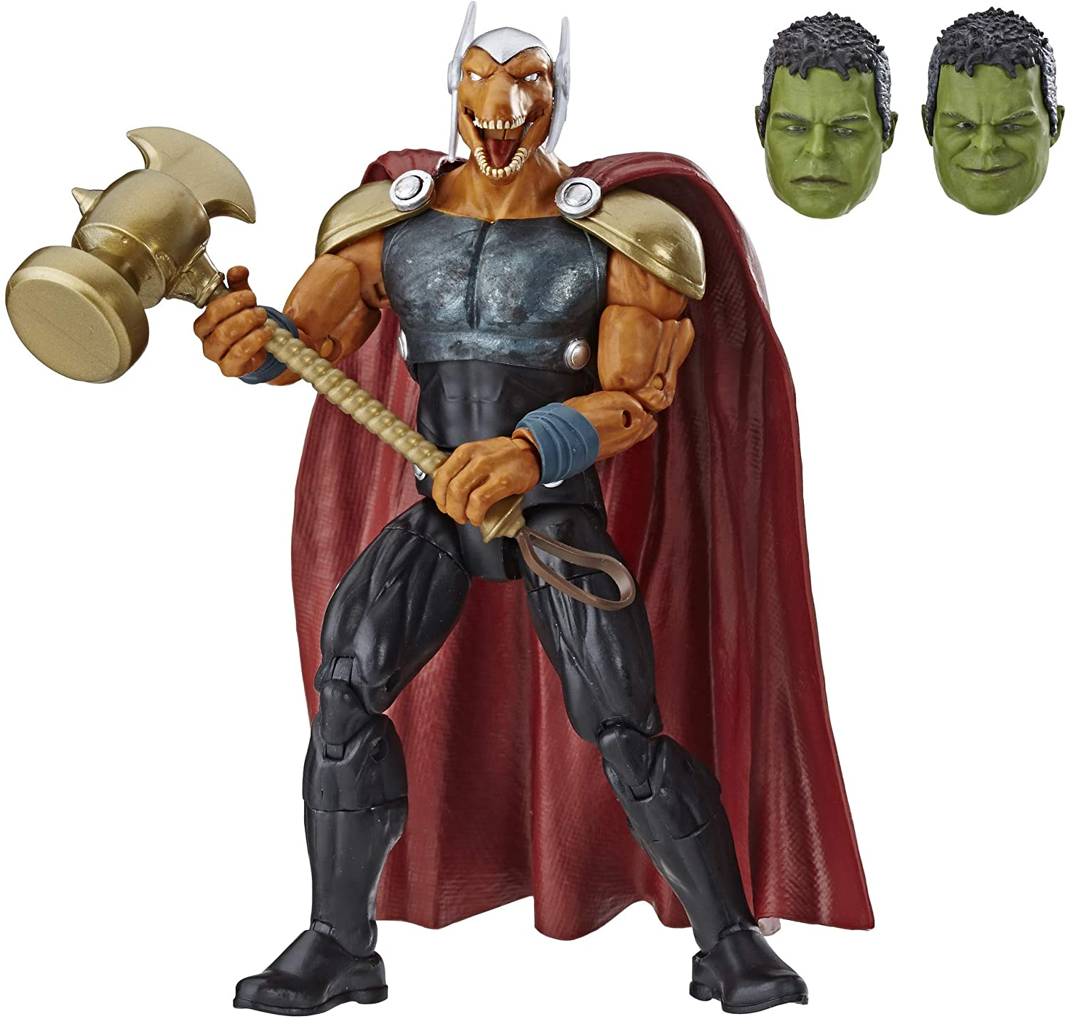 "Marvel Legends Series Beta Ray Bill 6"" Collectible Action Figure Toy for Ages 6 & Up with Accessories & Build-A-Figurepiece"