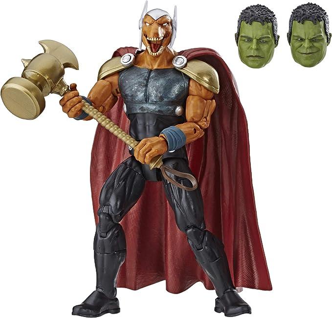 """Custom Marvel Avengers Fat Thor  6/"""" Action Figure Hammer Endgame Legends Toys"""